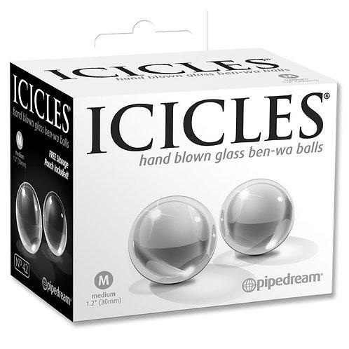 Icicles Medium Glass Ben-Wa Balls