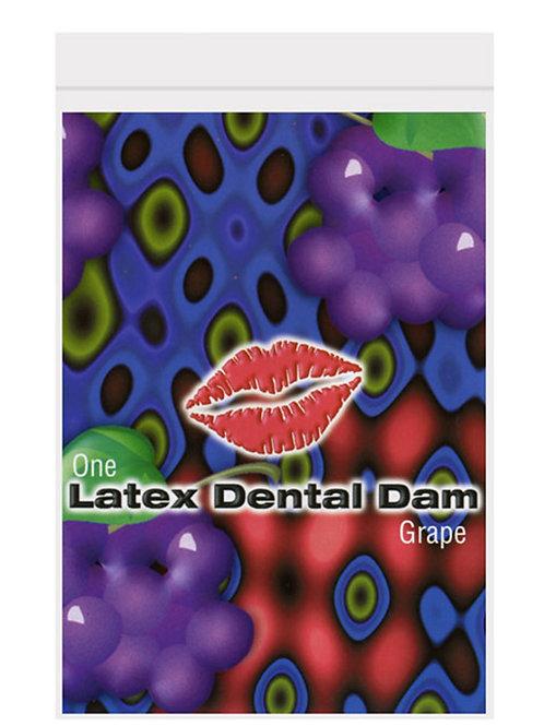 Dental Dam Grape