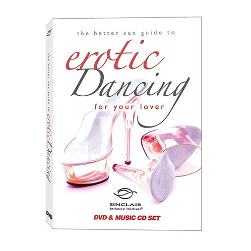 Better Sex Guide to Erotic Dancing DVD & Music CD