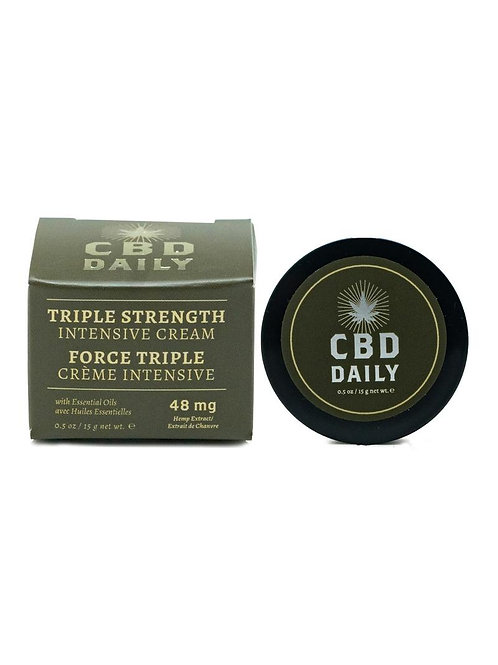 Cbd Daily Intensive Triple Cream 15ml