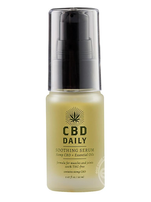 CBD Daily Soothing Serum Hemp CBD And Essential Oils 0.67 Ounce