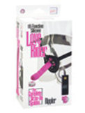 10 Function Silicone Love Rider Rippler - Pink