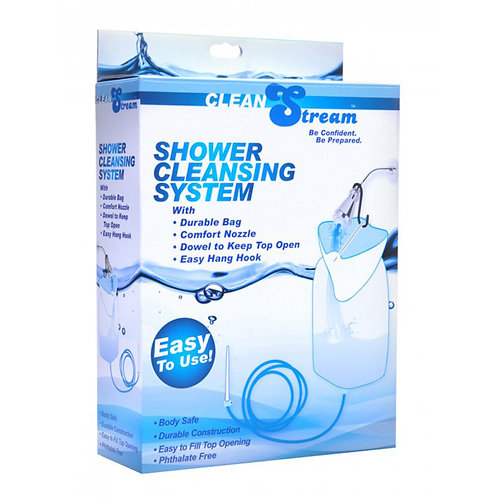 Clean Stream Silicone Shower Cleansing System