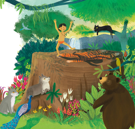 Jungle Book Scene