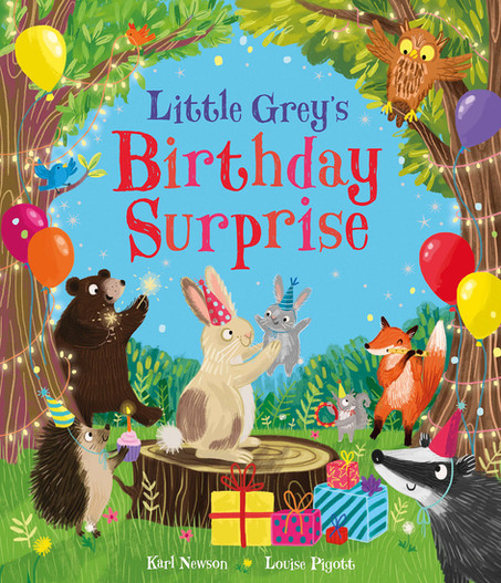 Little Grey's Birthday Surprise Book Cover