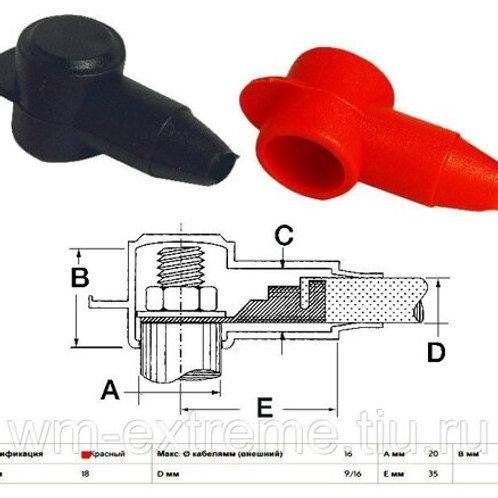 Изолятор для АКБ (черный, красный)