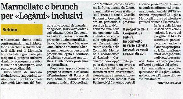 legami_Giornale di Brescia 20.07.2019.jp