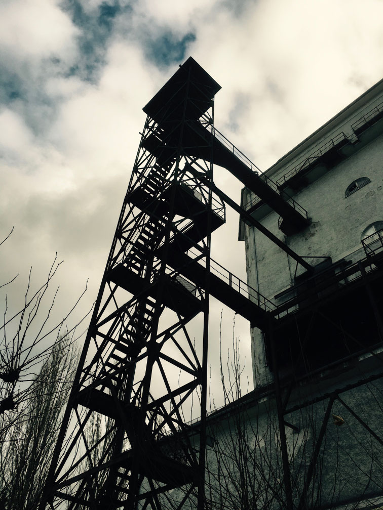 Silo-Turm