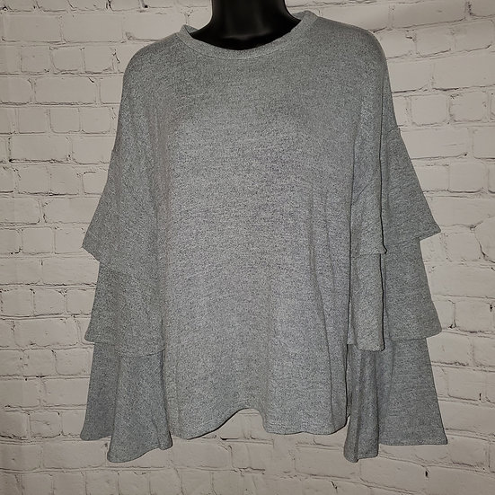 3 Bell Layered Sleeve Top