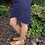 Thumbnail: Mid-rise Bodycon Skirt with V-Front