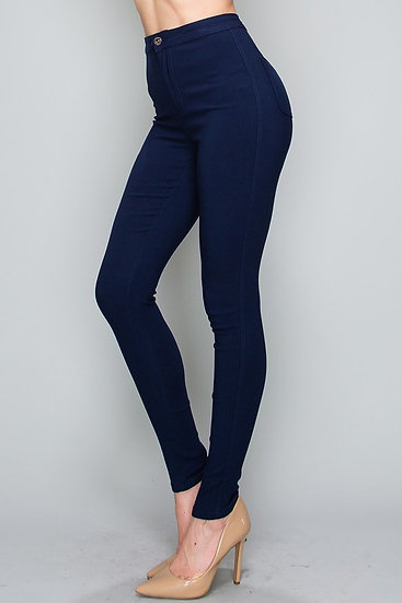 Skinny Fit Button Jeggings (only medium ad large available)