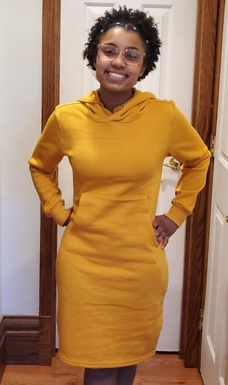 Hoodie Dress (only small and medium available)