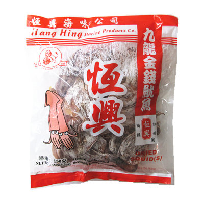 HANG HING DRIED SQUID SMALL 150G