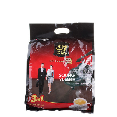 TRUNG NGUYEN G7 3 IN 1 INSTANT COFFEE 50S/16G