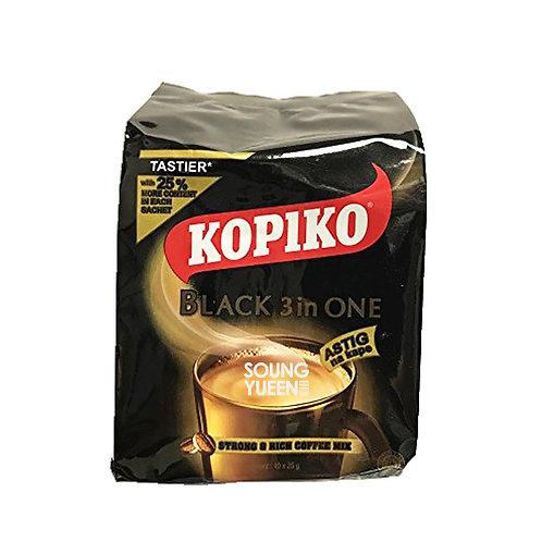 KOPIKO 3 IN 1 BLACK ASTIGNA KAPE 10x25G