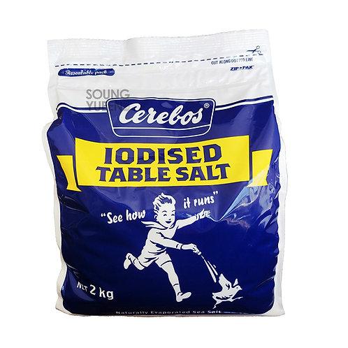 CEREBOS IODISED TABLE SALT 2KG