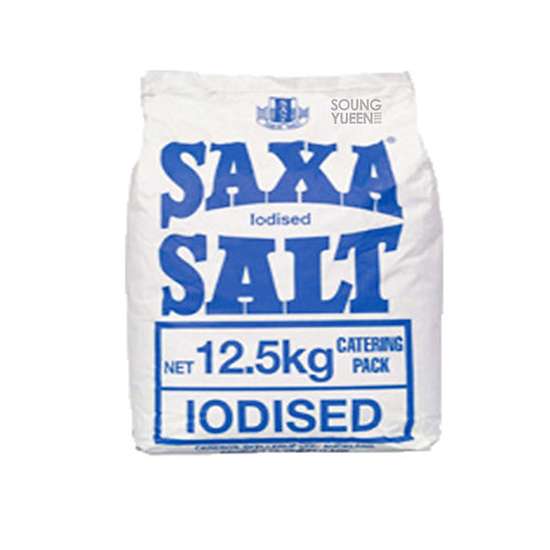 SAXA IODISED SALT 12.5KG
