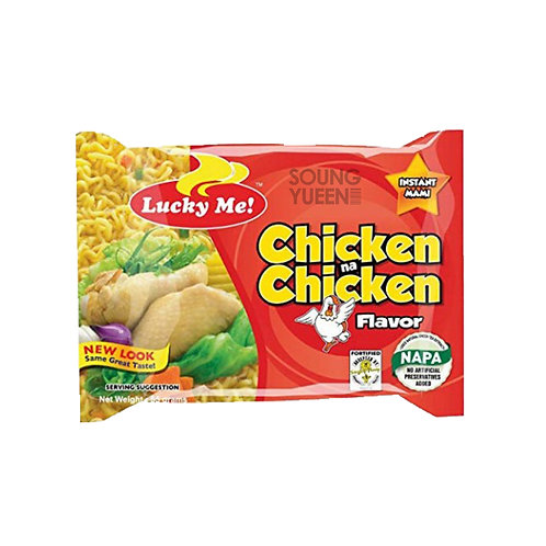 LUCKY ME INSTANT NOODLE CHICKEN FLAVOR 6X55G