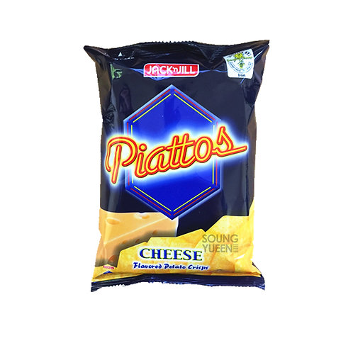 JACK N JILL PIATTOS CHEESE FLAVORED POTATO CRISPS 85G