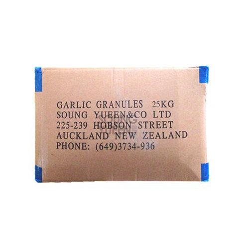 DRIED GARLIC GRANULES 25KG