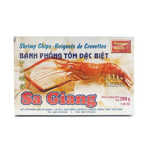 SA GIANG  (SHRIMP CHIPS VIETNAMESE) 200G