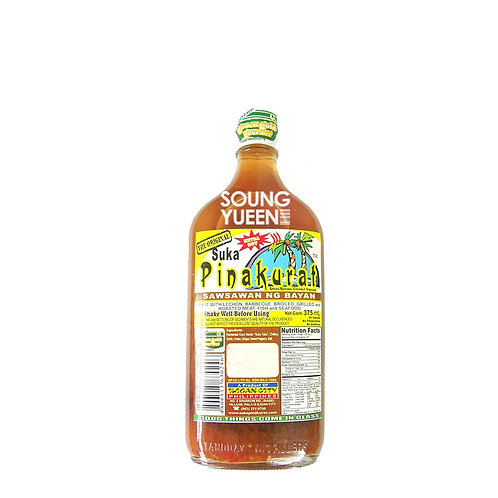 SUKA PINAKURAT SAWSAWAN NG BAYAN SPICED NATURAL COCONUT VINEGAR 375ML