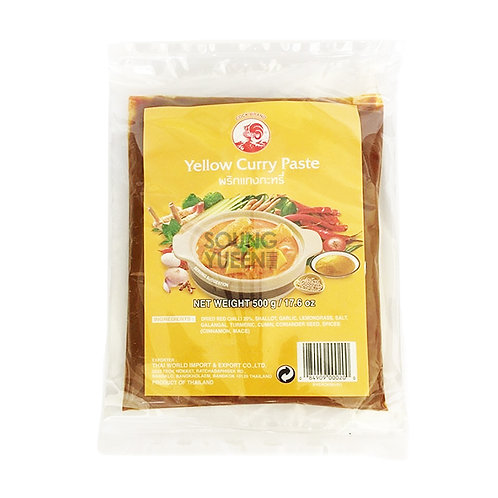 COCK YELLOW CURRY PASTE 500G