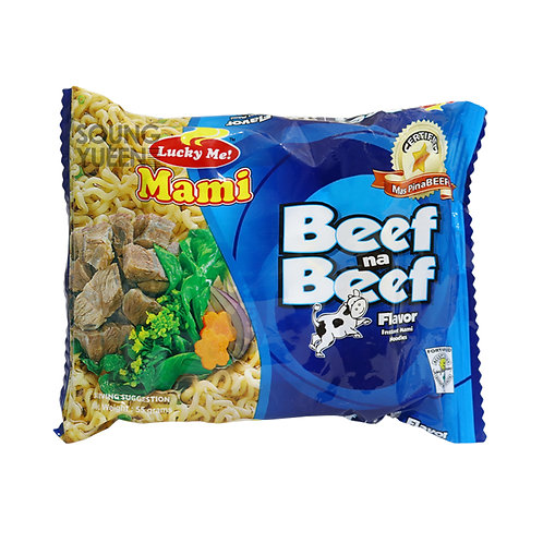 LUCKY ME INSTANT NOODLE BEEF FLAVOR 6X55G