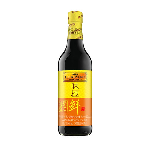 LKK WEI JI XIAN SEASONED SOY SAUCE 500ML