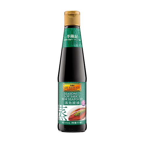 LKK SEASONED SOY SAUCE FOR SEAFOOD 410ML
