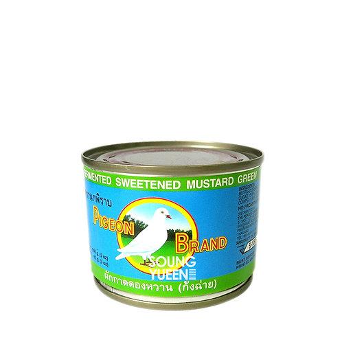 PIGEON FERMENTED SWEETENED MUSTARD GREEN 140G