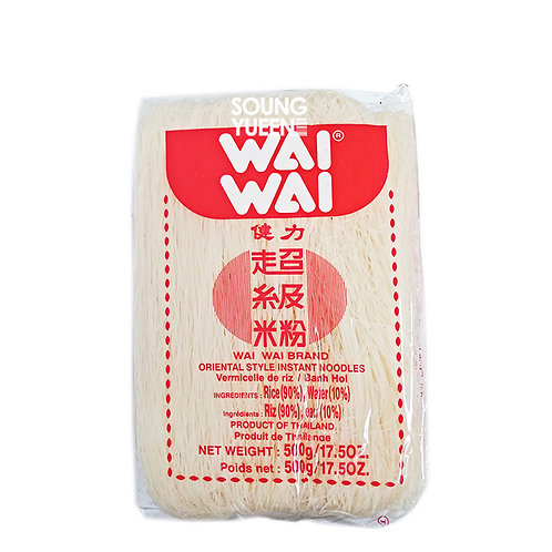 WAI WAI BRAND ORIENTAL STYLE INSTANT NOODLE RICE VERMICELLI 500G