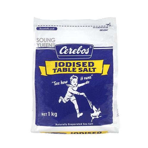 CEREBOS IODISED TABLE SALT 1KG