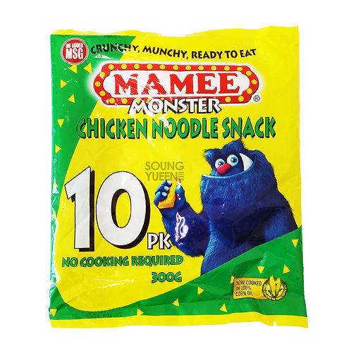 MAMEE MONSTER CHICKEN NOODLE SNACK 300G