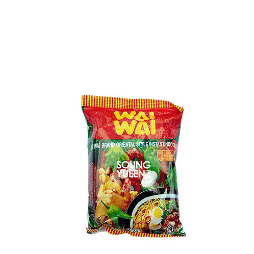 WAI WAI BRAND ORIENTAL STYLE INSTANT NOODLE WITH OIL 60G