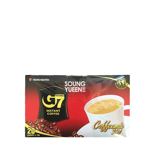 TRUNG NGUYEN G7 3 IN 1 INSTANT COFFEE TN (BOX) 20S/16G