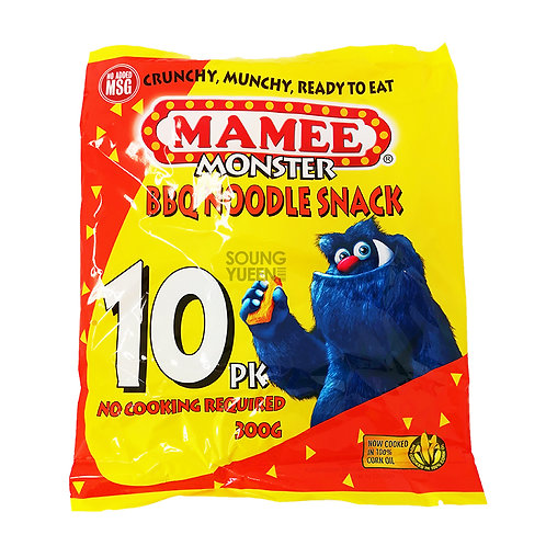 MAMEE MONSTER BBQ FLAVOUR NOODLE SNACK 300G