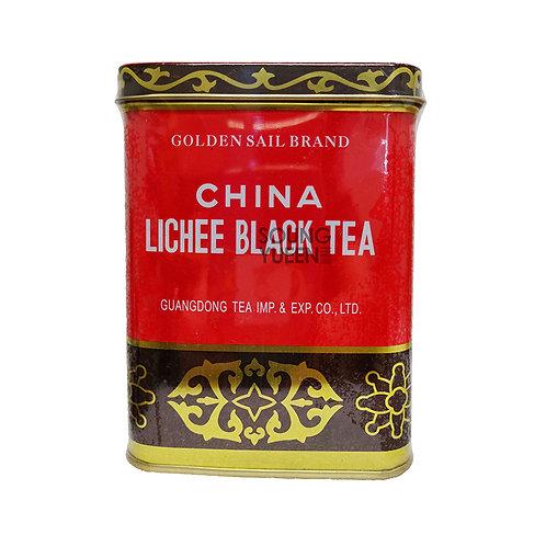 GOLDEN SAIL BRAND LICHEE BLACK TEA 8OZ