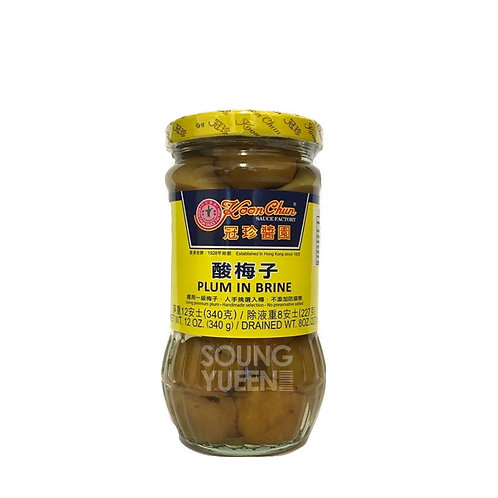 KOON CHUN PLUM IN BRINE 12OZ