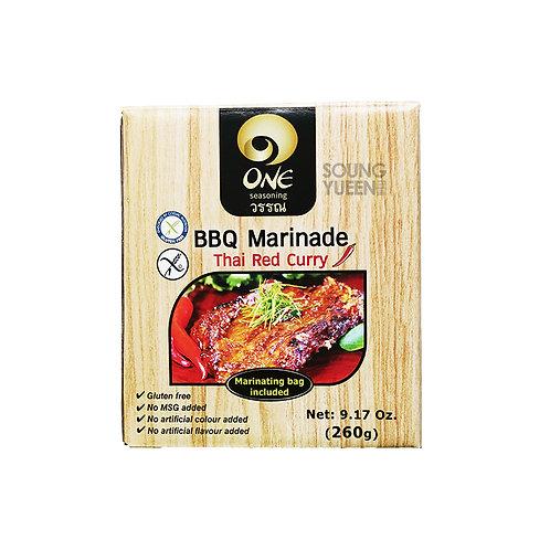 ONE BBQ MARINADE THAI RED CURRY 260G