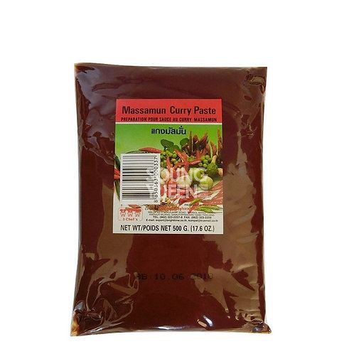 3 CHEF'S MASSAMAN CURRY PASTE 500G
