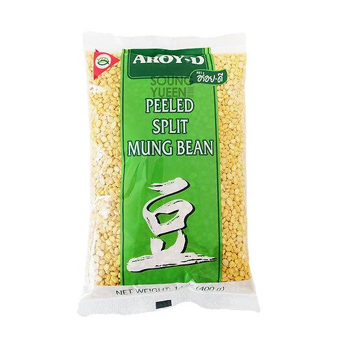 AROY-D PEELED SPLIT MUNG BEAN 400G