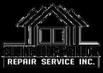 Logo slinding door and window repair service company