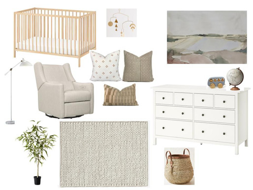 Gender Neutral Nursery Inspiration