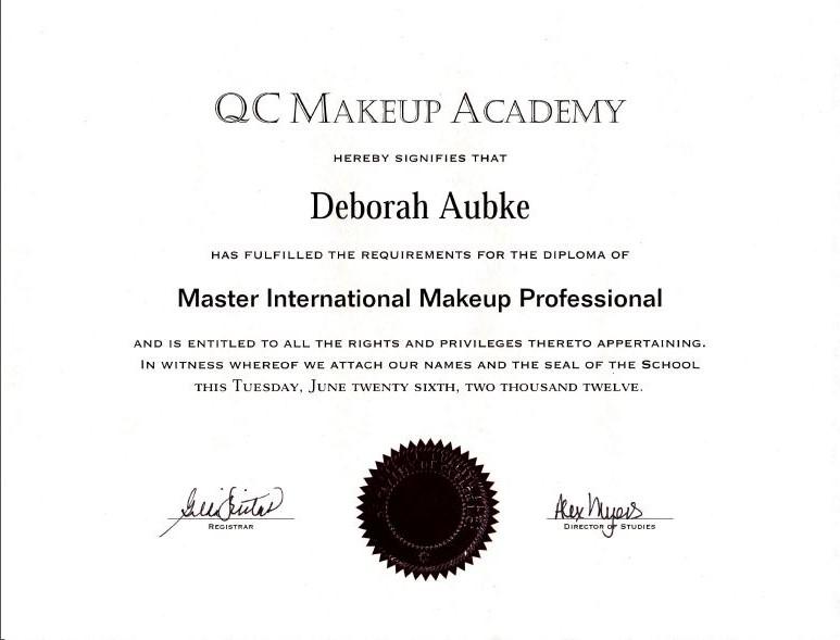 Deborah Aubke Makeup Artist and Hairstylist