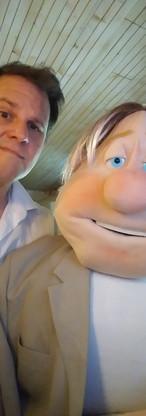 Gérard Depardieu puppet