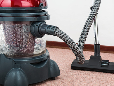 Vacuuming, Not Considered Cleaning