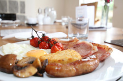 Cooked Breakfast at Arfryn