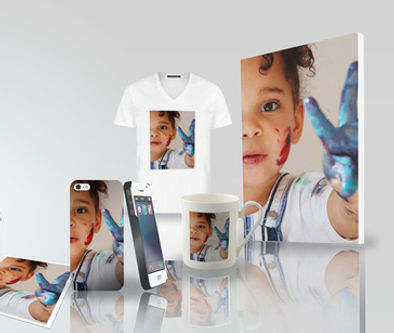Range of custom printed T-shirts,Prints, Mugs and other personalised product.