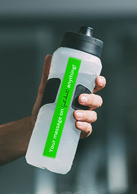 Promotional products drink bottle